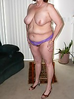 real breasts milf